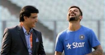 A file photo of Sourav Ganguly and Virat Kohli.