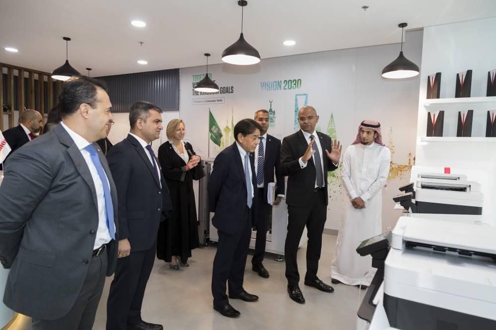 Canon Middle East welcomes EMEA CEO Yuichi Ishizuka to mark the 1st year anniversary in Saudi Arabia.
