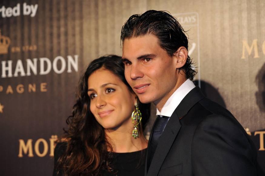 Rafael Nadal (L) and Xisco Perello. — Reuters