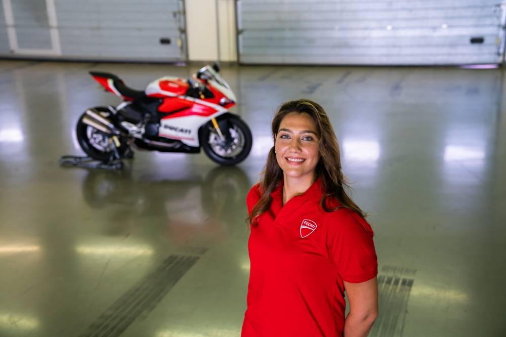 Saudi Dania Akeel is set to become the first Saudi female to receive her Speed Bikes Competition license after applying through the Saudi Arabian Motorsport Federation (SAMF).