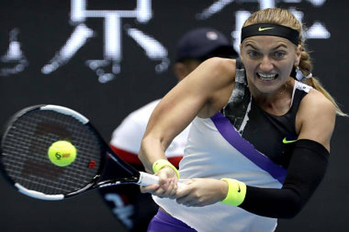 Petra Kvitova became the sixth player to qualify for the season-ending WTA Finals in Shenzhen. — Courtesy photo