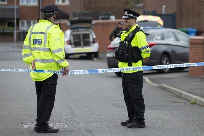 The driver, a 25-year-old man from Northern Ireland, has been arrested on suspicion of murder, police said. — AFP