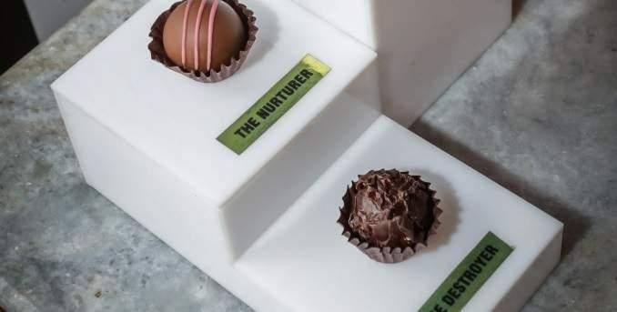 Unveiled in Mumbai on Tuesday, Fabelle's Trinity — Truffles Extraordinaire, costs a whopping Rs100,000 (SR5,300 and $1413 approximately). — Courtesy photo