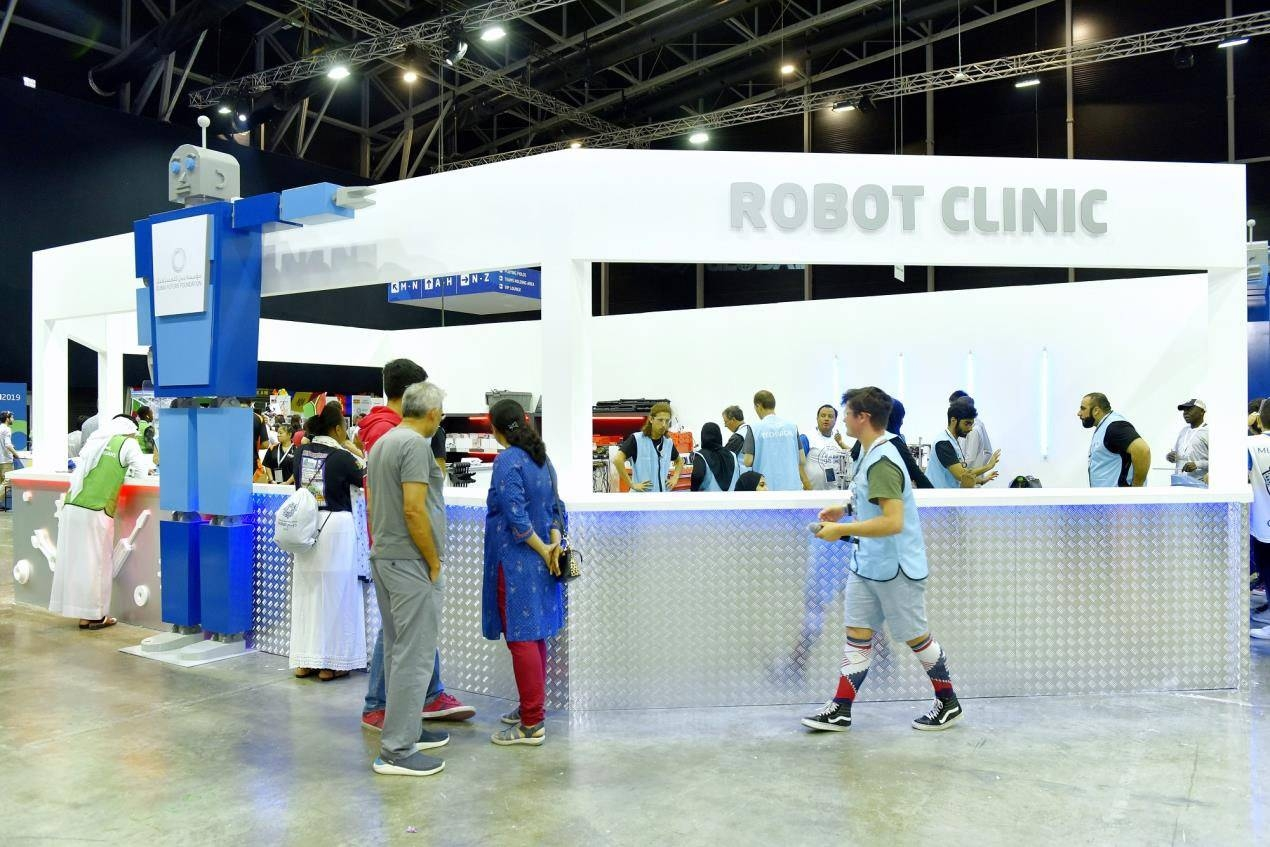 Global robotics competition heats up in Dubai