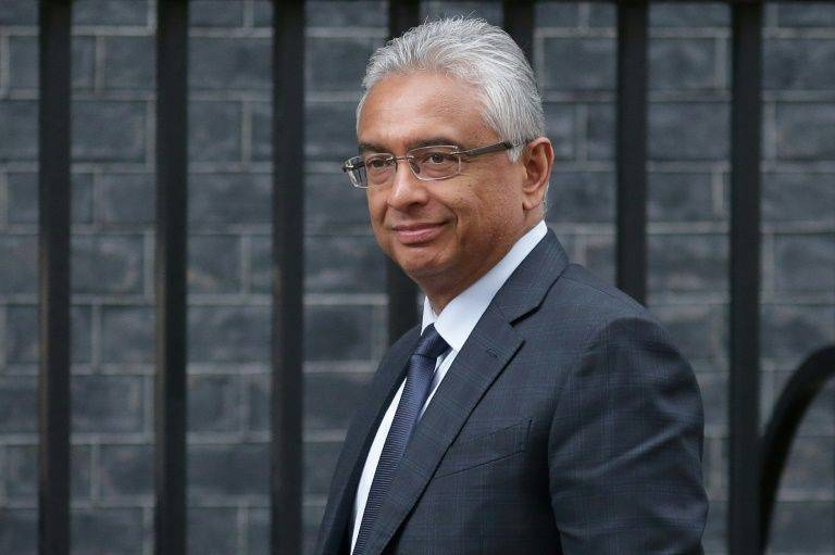 Jugnauth was named successor without a popular vote when his father Anerood Jugnauth stood down as prime minister in 2017  -AFP