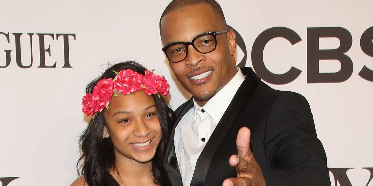 US rapper Clifford Harris, right, better known as T.I., is seen with his daughter Deyjah Harris, left, in this file picture. — Courtesy photo