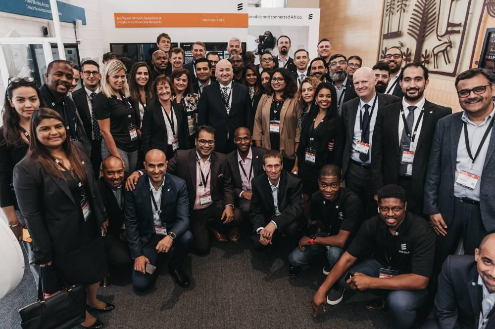 At AfricaCom 2019