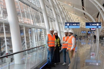 Young Saudi engineering professionals have played a remarkable role in realizing the giant project of the new King Abdulaziz International Airport terminal.