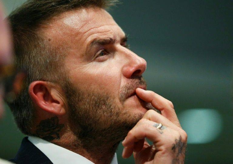 David Beckham's Inter Miami MLS team will make their home debut against the superstar's former club Los Angeles Galaxy next year. — AFP