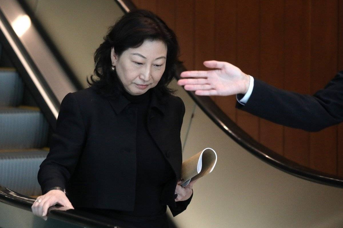 Justice secretary Teresa Cheng is seen in this file picture. — Courtesy photo