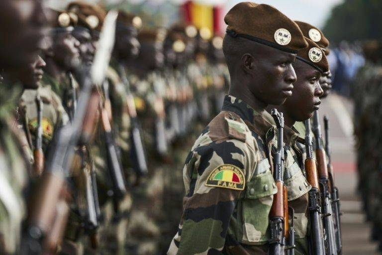 In Bamako, protest organizers said around 15,000 people marched in support of the army. – Courtesy photo