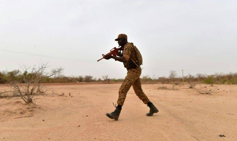 The impoverished and politically fragile Sahel country has been struggling to quell a rising militant revolt. — AFP