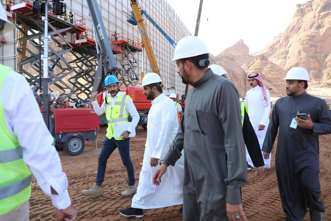 The main development projects in Al-Ula come within the first phase of infrastructure projects in the province according to the Kingdom's Vision 2030 to enhance tourism and develop the quality of life. — Courtesy photo