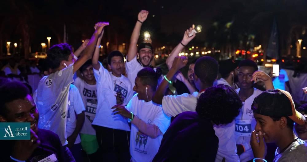 Jeddawis jog to beat diabetes at Abeer Group's Night Run