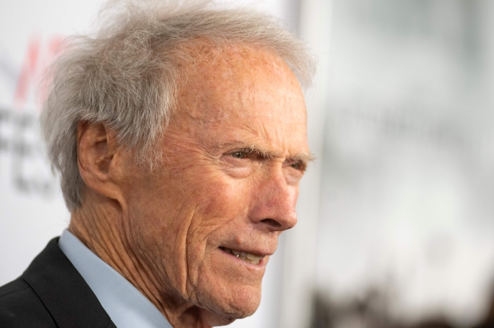 Director and actor Clint Eastwood attends the