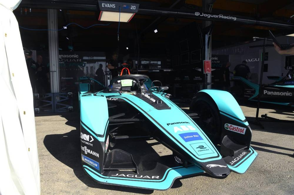The Formula E car gears up for the ABB FIA Formula E Championship Friday in the historic Diriyah Circuit.