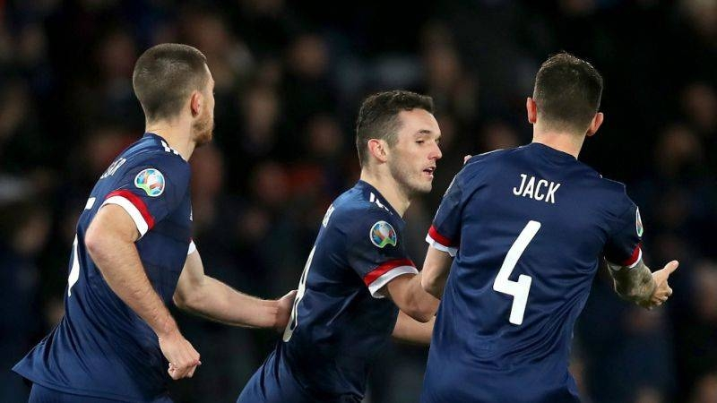 The Euro 2020 play-off draw took place on Friday, with Scotland to face Israel at Hampden Park in March's semfinals. — AFP