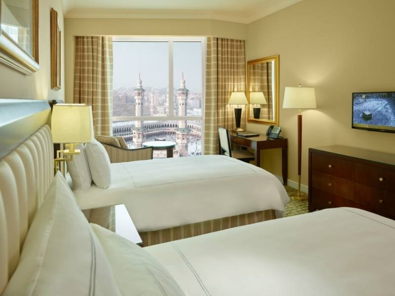 A majority of hotels in Makkah are located around the Grand Mosque and they vary from one star to five. — Courtesy photo