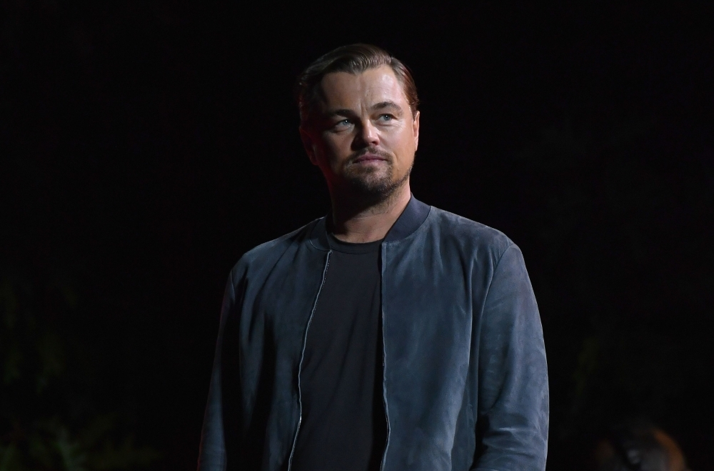 US actor Leonardo DiCaprio speaks onstage at the 2019 Global Citizen Festival: Power The Movement in Central Park in New York in this Sept. 28, 2019 file photo. — AFP