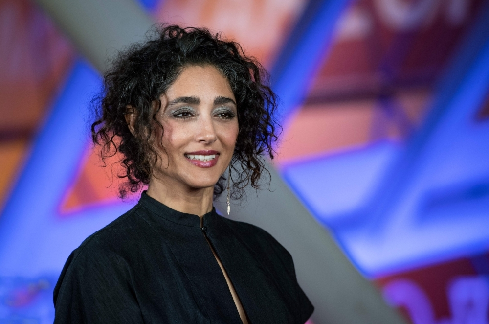 Iranian actress and singer Golshifteh Farahani attends the 18th edition of the Marrakech International Film Festival in Marrakech, Morocco, in this Dec. 2, 2019 file photo. — AFP