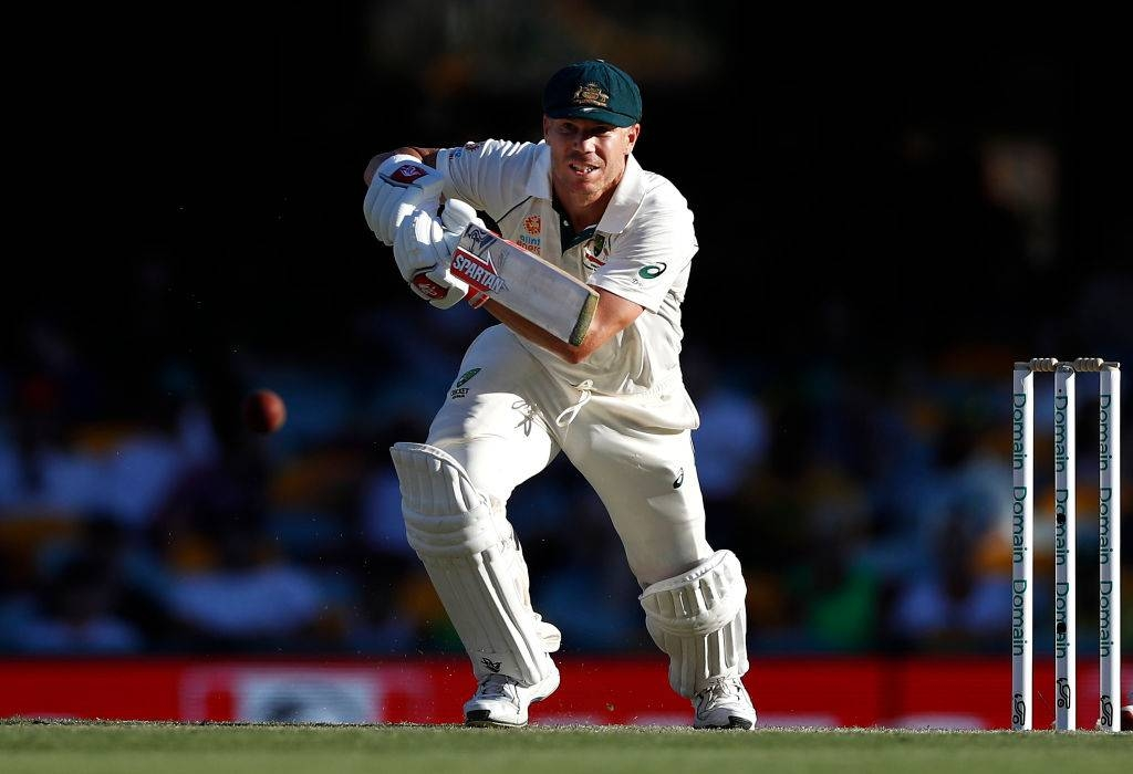 David Warner in his element in recent Test against Pakistan.