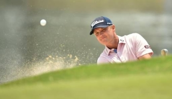 Matt Jones held a three shot buffer from American Cameron Tringale after the third round of the Australian Open, on Saturday. —  AFP