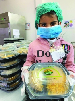 A total of 780,113 meals were distributed in Jeddah while 109,396 were distributed in Riyadh, 104,568 in Dammam and 41,482 in Jubail. — Courtesy photo