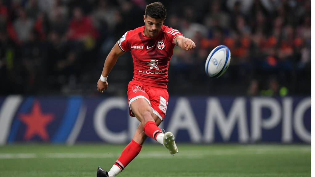 France's Romain Ntamack scored twice as Rugby World Cup winner Cheslin Kolbe made his Toulouse return in a 23-9 victory over Montpellier. — AFP