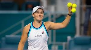 Australian Ashleigh Barty was named the WTA Player of the Year on Wednesday.
