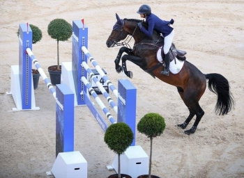 Jasmine Chen hopes to score a qualification for Tokyo 2020 at the Diriyah Equestrian Festival.