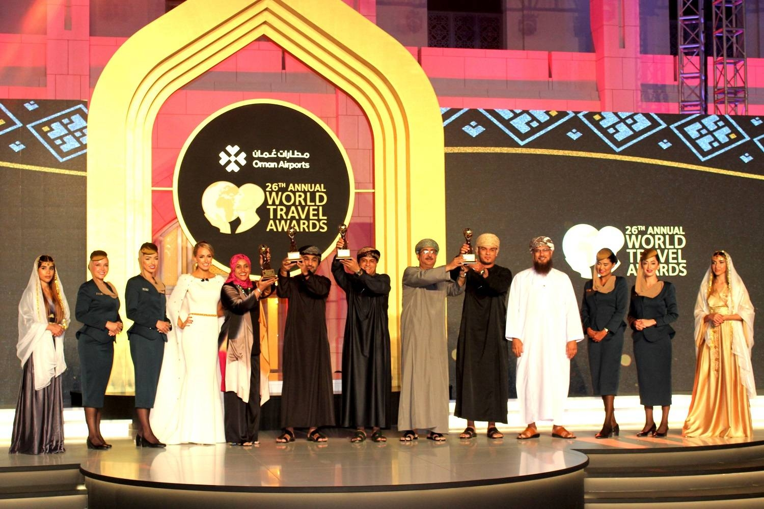 World Travel Awards 2019 Grand Final Gala ceremony at the Royal Opera House Muscat