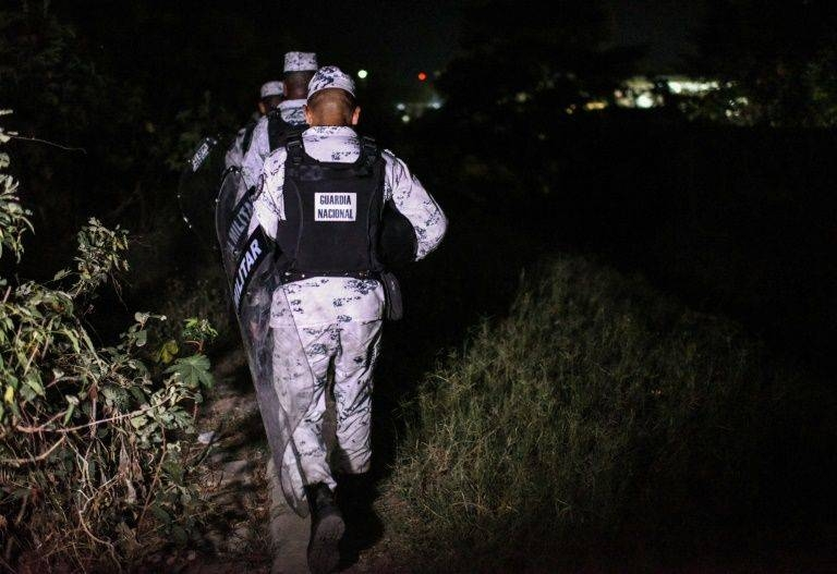 An estimated 3,000 Central American migrants are currently en route to the United States via Mexico. -AFP