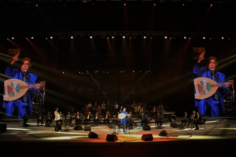 Lebanese singer and actress Carol Samaha expressed her delight in performing in the second season of the festival. — Courtesy picture