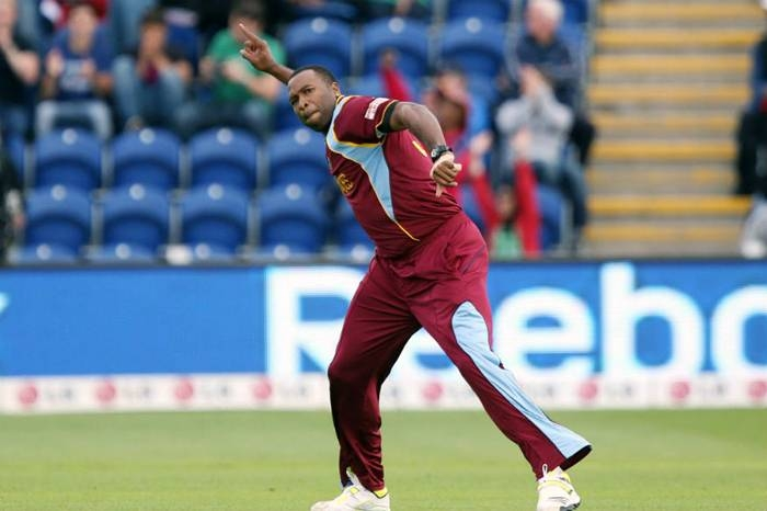 Captain Kieron Pollard produced the best bowling spell by a West Indian in Twenty20 International cricket on Saturday before rain forced the second match of a three-game series against Ireland to be abandoned.
