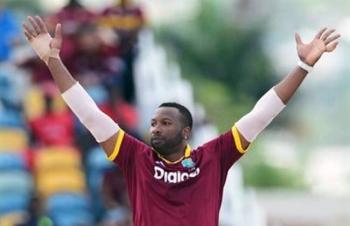 Captain Kieron Pollard claimed 3-17 as West Indies dominated Ireland in the third and final Twenty20 International at Warner Park on Sunday.