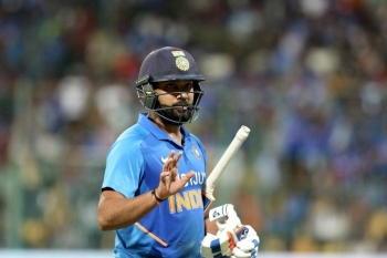 India's prolific opener Rohit Sharma, who made 119 in the decider against Australia in Bangalore, earned praise from Australia skipper Aaron Finch.