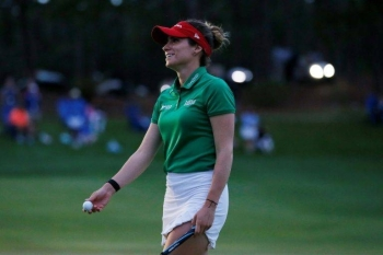 Gaby Lopez won the LPGA Tour's Tournament of Champions on the seventh hole of a sudden-death playoff. — AFP