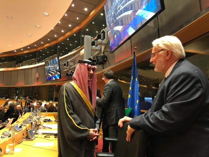 Information on KSA based on rumors, Al-Jubeir told EU Parliament