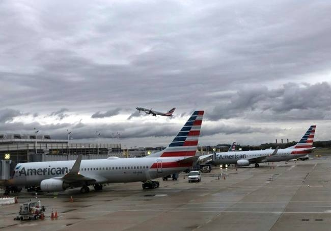 American Airlines reported a jump in fourth-quarter profits on continued strong consumer demand that offset the hit from the 737 MAX grounding. — AFP