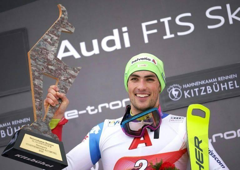 Yule ends long Swiss drought in Kitzbuehel slalom. — AFP