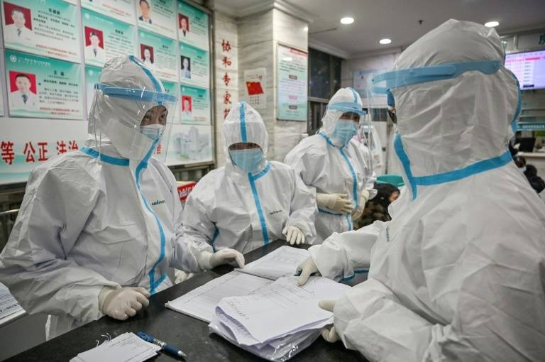 The spread of a deadly virus is overwhelming hospitals in Wuhan, the city at the epicenter of the health emergency. — AFP