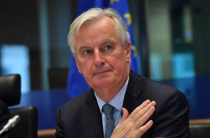 EU's Brexit chief negotiator Michel Barnier addresses the European Parliament Committee on Foreign Affairs at the European Parliament in Brussels in this April 2, 2019 file photo. — AFP