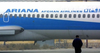 A state-owned Ariana Afghan Airlines plane is seen in this file picture. — Courtesy photo