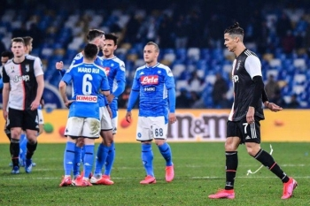 Napoli won for the first time since Dec. 22 with victory over Cristiano Ronaldo's Juventus. — AFP