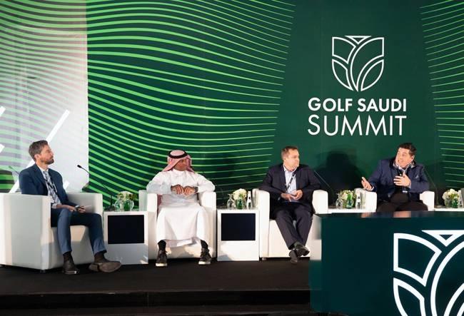 Golf Saudi Summit gets under way in Jeddah on Monday.