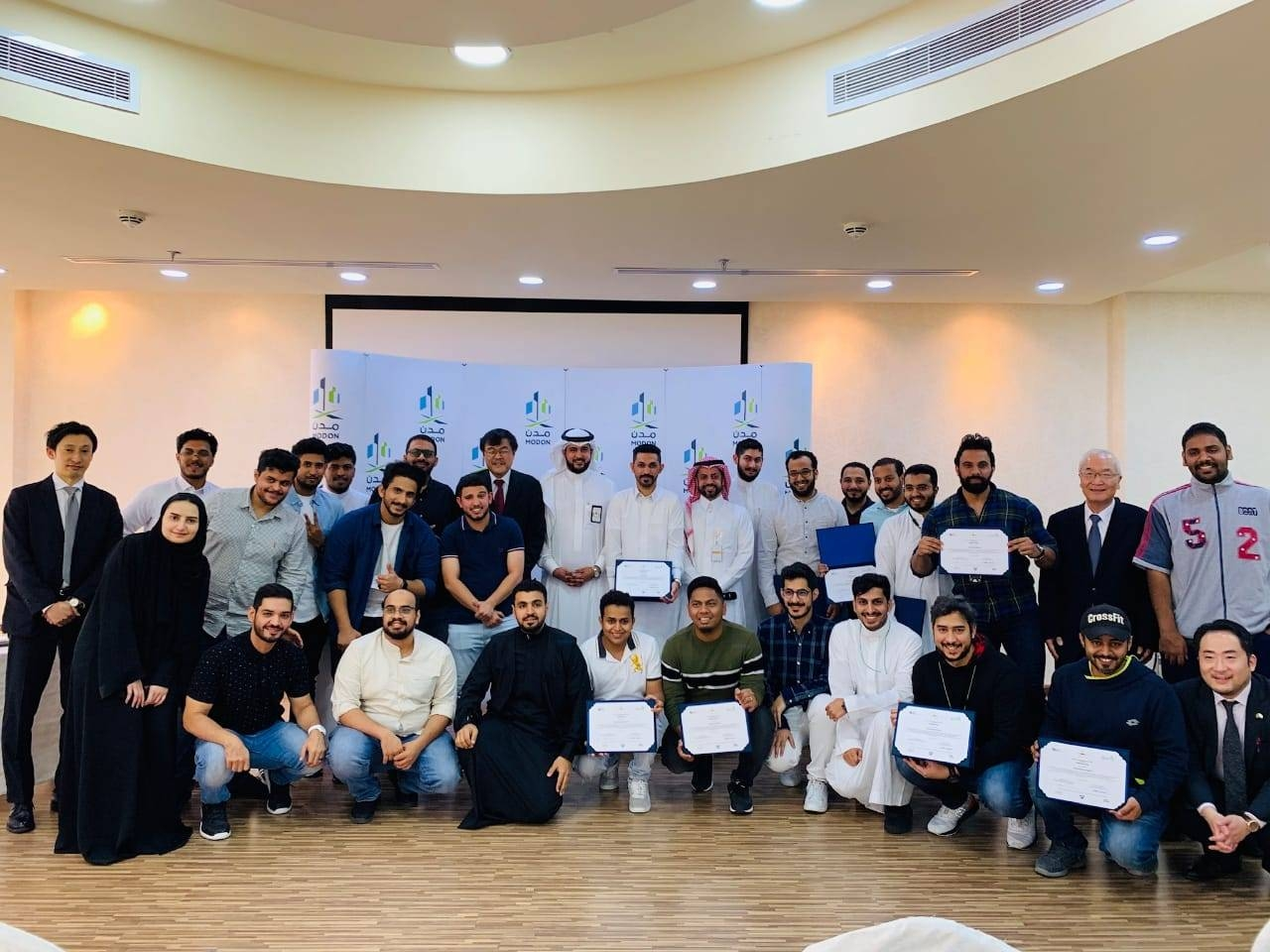 Saudi engineers made the most a five-day training program on lean production, which was conducted at the Saudi Authority for Industrial Cities and Technology Zones (Modon) in Jeddah on Feb. 2-6.