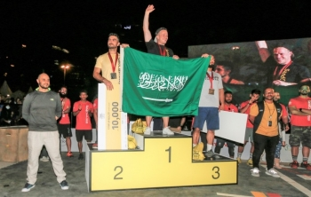 SandClash 2019 winners sponsored by the Saudi Sports for All Federation with Prince Khaled bin Alwaleed.