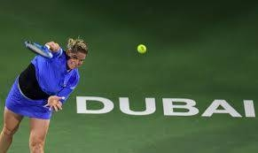 Four-time Grand Slam champion Kim Clijsters lost her first match in her second tennis comeback on Monday following a 6-2, 7-6 (8/6) defeat to Garbine Muguruza in the opening round of the WTA event in Dubai. — AFP
