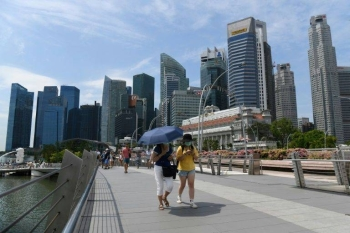 Singapore has 75 cases of the new coronavirus, making it one of the worst-affected places outside China. — AFP