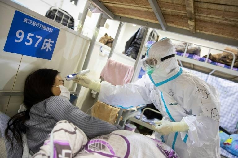 The WHO has praised China for taking drastic measures to contain the virus. — AFP